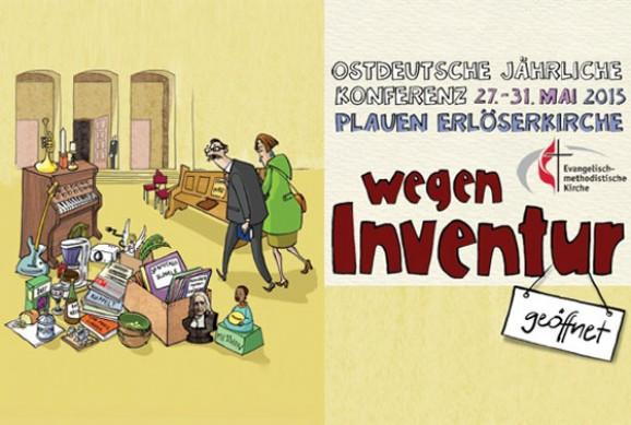 Wegen Inventur geöffnet