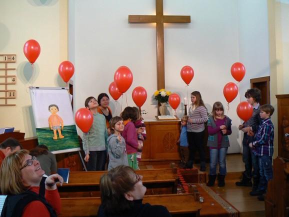 Familiengottesdienst Christuskirche Drebach am 03.03.2013